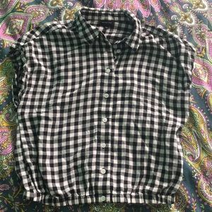 Who What Wear Gingham shirt